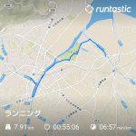 7.91km 55:06min 6.57min/km